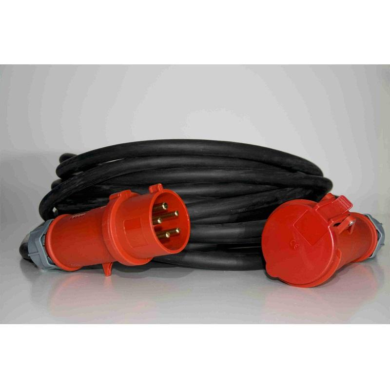 32 Amp 3 phase 30m extension lead